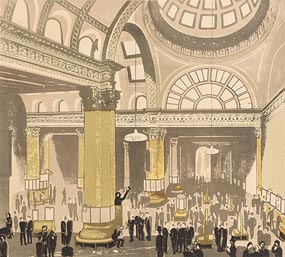 Edward Bawden, London Stock Exchange at Morgan O'Driscoll Art Auctions