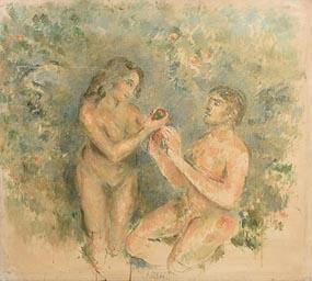 Stella Steyn, Adam & Eve at Morgan O'Driscoll Art Auctions