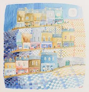 Tom Walsh, Barrack Street, Cork (1988) at Morgan O'Driscoll Art Auctions