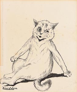 Louis William Wain, Tell Me A Story at Morgan O'Driscoll Art Auctions