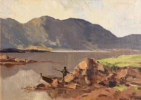 Maurice Canning Wilks, Connemara Lake at Morgan O'Driscoll Art Auctions
