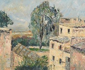 Stella Steyn, Rooftops (1963) at Morgan O'Driscoll Art Auctions