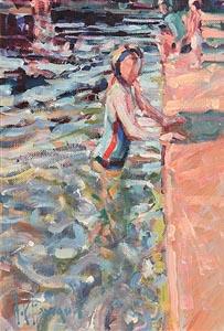 Arthur K. Maderson, Study, Lismore River Pool at Morgan O'Driscoll Art Auctions