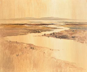 Desmond Turner, Estuary Near An Bogagh Ban, Achill at Morgan O'Driscoll Art Auctions