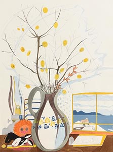 Pauline Bewick, Catkins in Vase at Morgan O'Driscoll Art Auctions