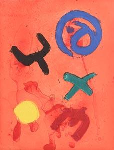 John Hoyland, Flying Wild (2006) at Morgan O'Driscoll Art Auctions