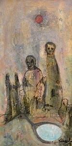 John Kingerlee, The Pool (1978) at Morgan O'Driscoll Art Auctions