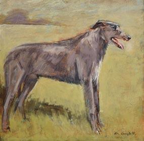 Con Campbell, Irish Wolfhound at Morgan O'Driscoll Art Auctions