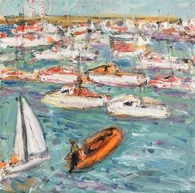 Deborah Donnelly, Dublin Bay at Morgan O'Driscoll Art Auctions