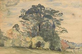 Estella Frances Solomons, Landscape with Trees at Morgan O'Driscoll Art Auctions