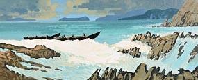 John Francis Skelton, Blaskets Rush at Morgan O'Driscoll Art Auctions