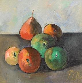 Peter Collis, Six Fruits at Morgan O'Driscoll Art Auctions