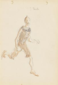 Jack Butler Yeats, The Runner at Morgan O'Driscoll Art Auctions