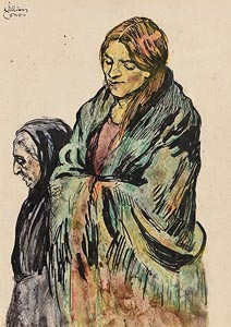 William Conor, Women of Belfast at Morgan O'Driscoll Art Auctions