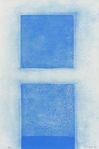 William Scott, Blue Abstract (1972) at Morgan O'Driscoll Art Auctions