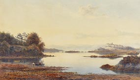 Albert Hartland, Glengarriff, Co Cork from Eccles Hotel at Morgan O'Driscoll Art Auctions