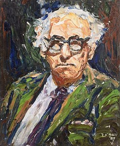 Liam O'Neill, Patrick Kavanagh (1989) at Morgan O'Driscoll Art Auctions