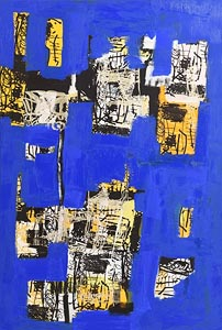 Brian Gormley, New City Blues at Morgan O'Driscoll Art Auctions