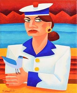 Graham Knuttel, Sailor's Friend at Morgan O'Driscoll Art Auctions