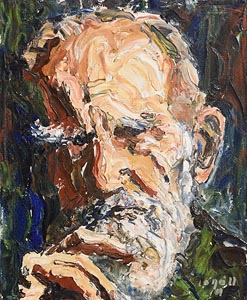 Liam O'Neill, George Bernard Shaw (1989) at Morgan O'Driscoll Art Auctions