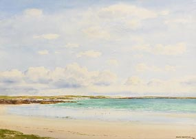 Frank Egginton, Aillebrack Strand, Connemara (1988) at Morgan O'Driscoll Art Auctions
