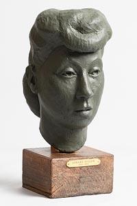 Gerard Dillon, Head of a Girl at Morgan O'Driscoll Art Auctions