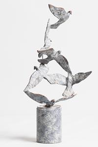 Jarlath Daly, Flight of Doves at Morgan O'Driscoll Art Auctions
