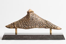 John Behan, Temple on the Hill at Morgan O'Driscoll Art Auctions