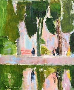 Alexey Krasnovsky (1945-2016) Russian, Gilao River, Tavira, Portugal (2004) at Morgan O'Driscoll Art Auctions