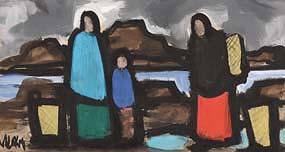 Markey Robinson, Gathering the Turf at Morgan O'Driscoll Art Auctions