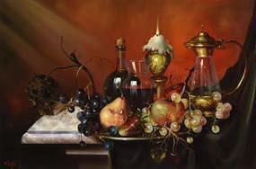 Furst, Still Life on Tabletop at Morgan O'Driscoll Art Auctions