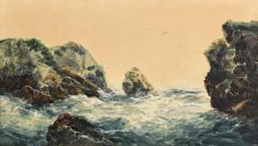 Alexander Williams, Coast of Achill at Morgan O'Driscoll Art Auctions
