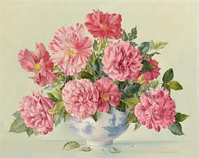 Desmond Kenny, Old French Roses at Morgan O'Driscoll Art Auctions