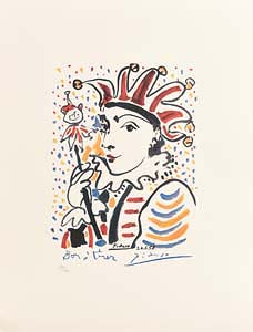 Pablo Picasso, Carnival (1958) at Morgan O'Driscoll Art Auctions