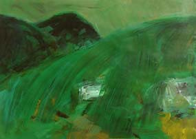 Nancy Wynne-Jones, Landscape at Morgan O'Driscoll Art Auctions