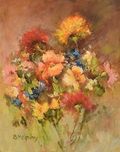 Elizabeth Brophy, Wild Flowers at Morgan O'Driscoll Art Auctions