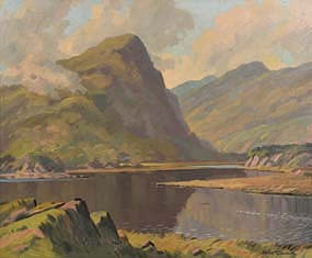Sean O'Connor, The Eagles Nest, Killarney at Morgan O'Driscoll Art Auctions