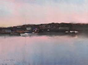 Anne Marie McInerney, Baltimore Sunrise at Morgan O'Driscoll Art Auctions