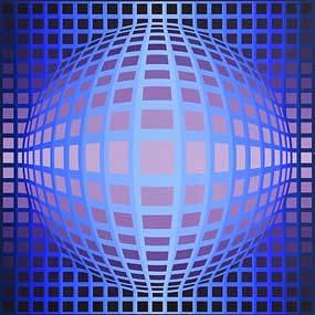 Victor Vasarely (1906-1997), Sphere En Relief (1980) at Morgan O'Driscoll Art Auctions