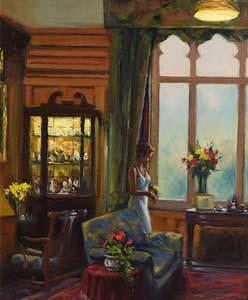 Norman Teeling, The Drawing Room at Morgan O'Driscoll Art Auctions