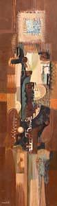 George Campbell, Azcelt Vertical Complex at Morgan O'Driscoll Art Auctions