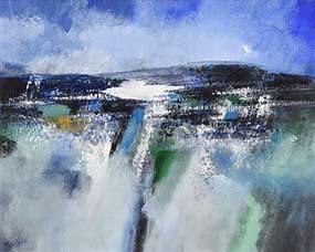 Manus Walsh, Burren at the Closing at Morgan O'Driscoll Art Auctions