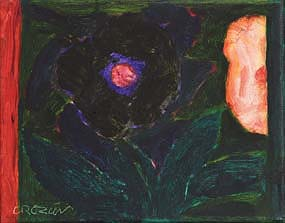 William Crozier, Dark Flower at Morgan O'Driscoll Art Auctions