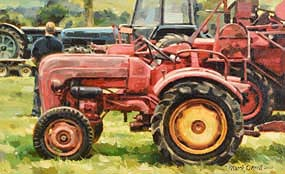 Mark O'Neill, Vintage Red at Morgan O'Driscoll Art Auctions