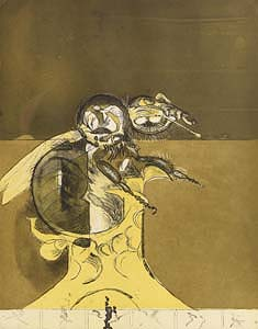 Graham Sutherland, Hatching I From Bees (1976-77) at Morgan O'Driscoll Art Auctions