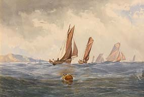 John Faulkner, Sailing Off Sherkin Island at Morgan O'Driscoll Art Auctions