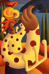 Alan Kenny, Polka Session at Morgan O'Driscoll Art Auctions