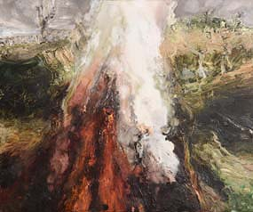 Bernadette Kiely, Fire XVII (2000) at Morgan O'Driscoll Art Auctions