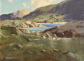 George Gillespie, Seascape, West of Ireland at Morgan O'Driscoll Art Auctions