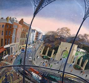 Nicholas Hely Hutchinson, A Corner of St Stephen's Green at Morgan O'Driscoll Art Auctions